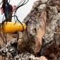 采石场用大型劈裂机柴油型液压噼裂机
