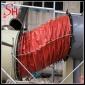 耐磨风机接口   帆布伸缩软接头 尼龙布风管 600/600  耐腐蚀  硅钛硅胶布设备软连接