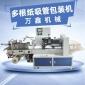 万鑫机械直销多支纸吸管包装机 一次性环保纸吸管机